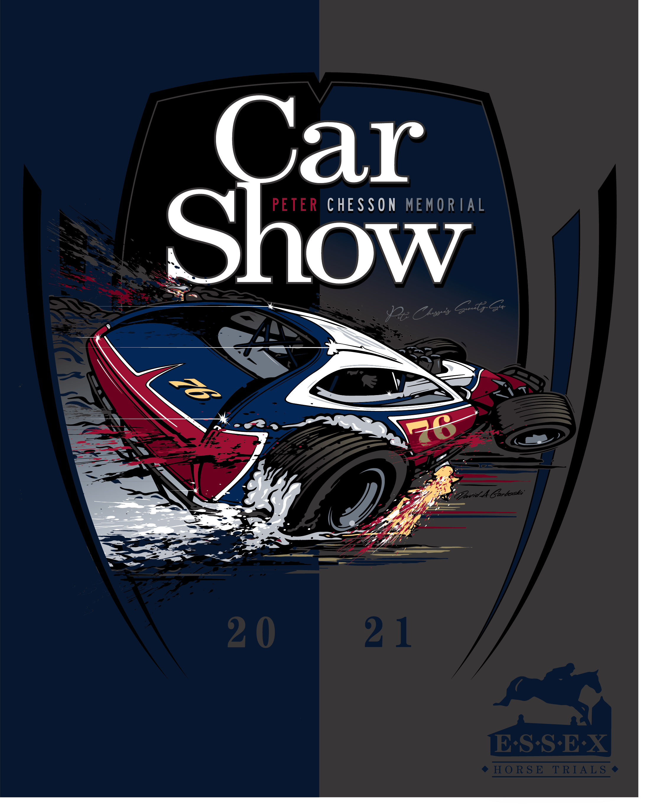 Peter Chesson Memorial Car Show 2021 Saturday, July 17th Far Hills New Jersey