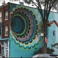 Raymond W Brown Mural Wall